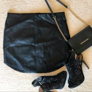 Nasty Gal Leather Skirt, Brand new with tags!!!